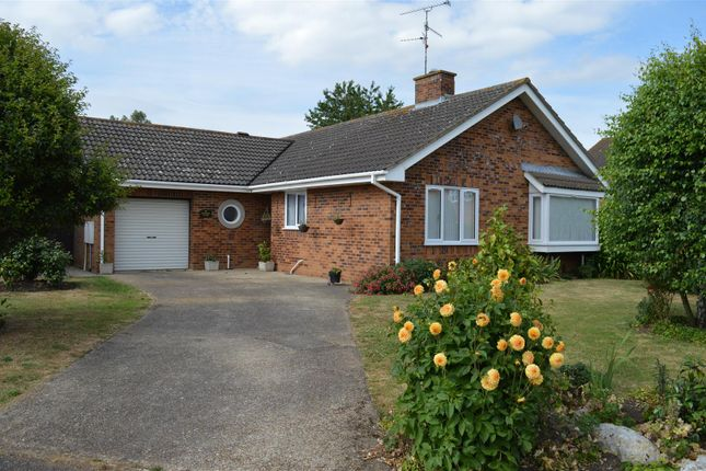 Thumbnail Detached bungalow for sale in Gregory Close, North Wootton, King's Lynn