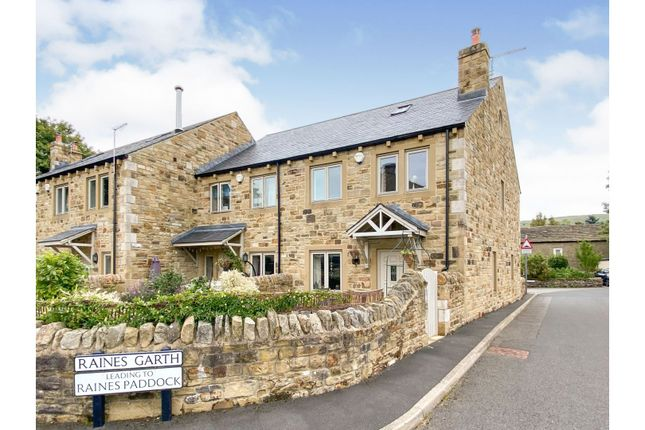 Thumbnail End terrace house for sale in Raines Paddock, Giggleswick