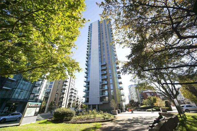 Front Exterior of Residence Tower, Woodberry Grove, London N4