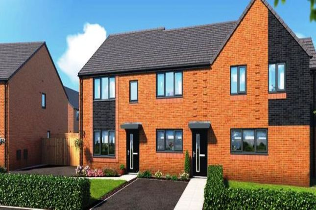 Thumbnail Terraced house for sale in Riverbank View, Whit Lane, Salford