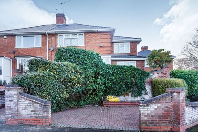 Thumbnail Semi-detached house for sale in Crowther Road, Birmingham