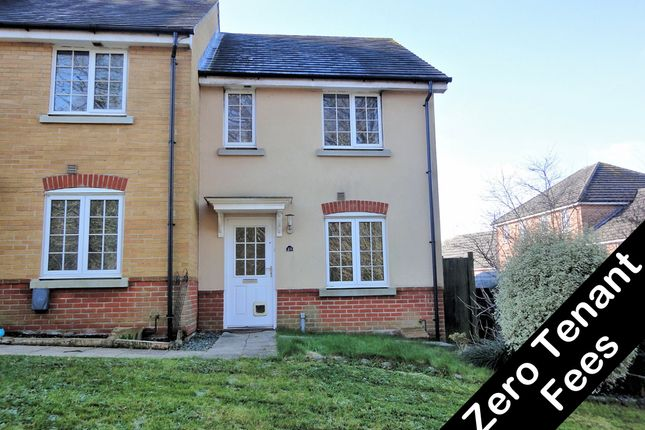Thumbnail End terrace house to rent in Silver Birch Way, Whiteley, Fareham