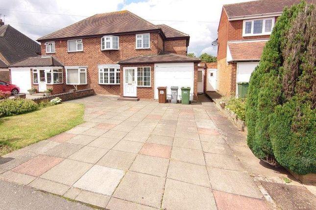 Thumbnail Semi-detached house for sale in Hazelhurst Road, Castle Bromwich