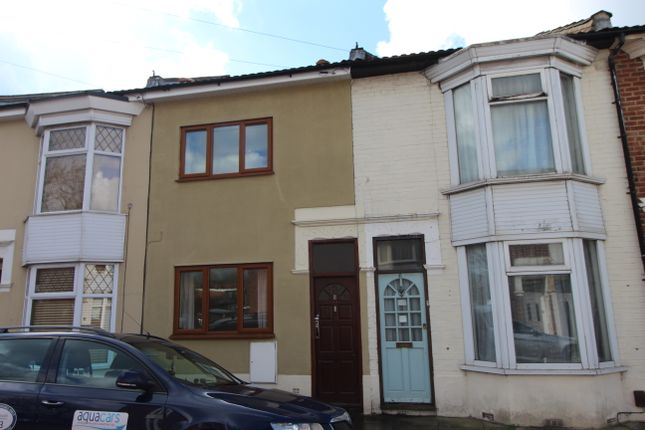 Thumbnail Terraced house to rent in Cranleigh Avenue, Portsmouth