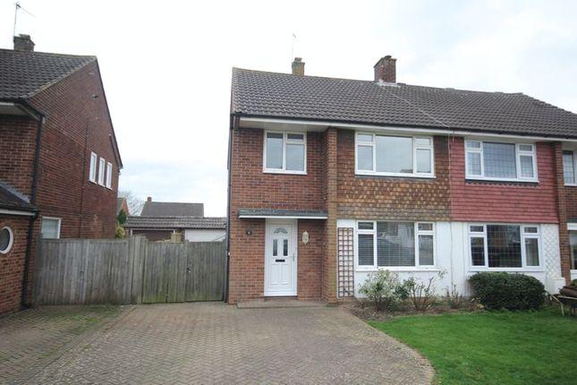 Thumbnail Semi-detached house to rent in Sullivan Road, Tonbridge