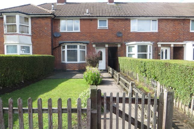 Thumbnail Terraced house to rent in Dryden Grove, Acocks Green, Birmingham