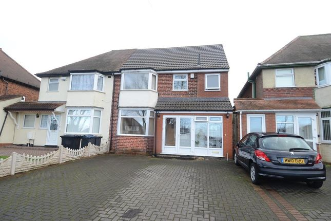 Thumbnail Semi-detached house for sale in Southern Road, Ward End, Birmingham
