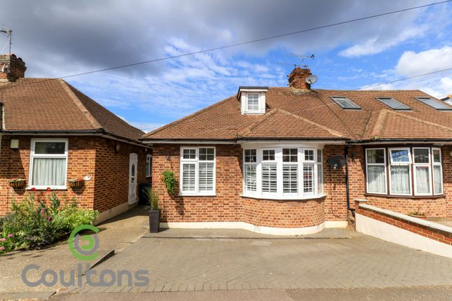 Thumbnail Semi-detached bungalow for sale in Drysdale Avenue, London