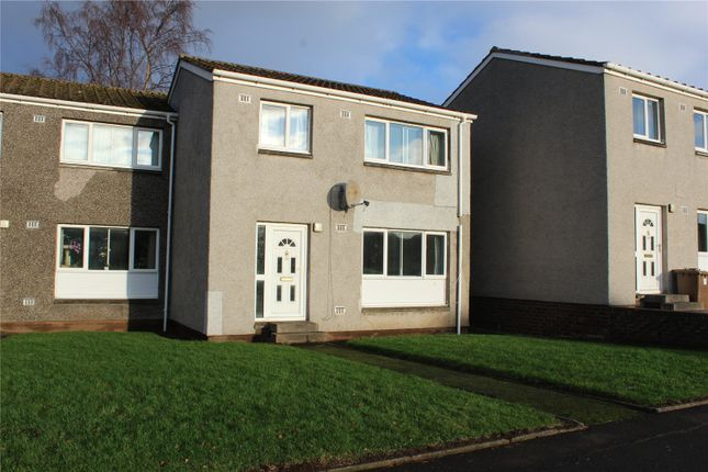 Thumbnail End terrace house to rent in Hampden Close, Leuchars, St. Andrews, Fife