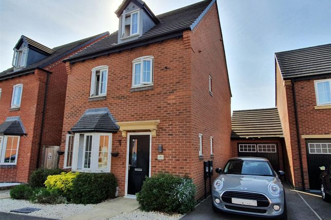 Thumbnail Detached house for sale in John Frear Drive, Syston, Leicester