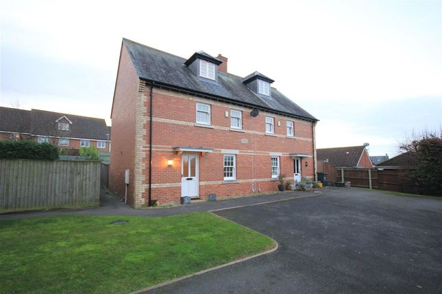 Thumbnail Semi-detached house to rent in Caster Bridge Place, Templecombe, Templecombe