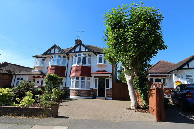 Thumbnail Semi-detached house to rent in Copthall Road West, Ickenham, Uxbridge