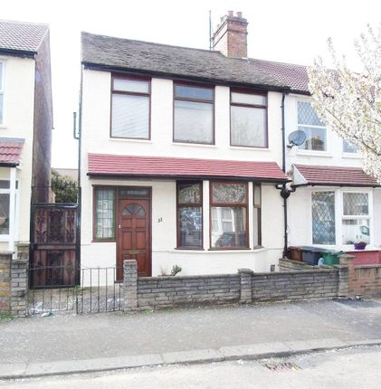 Thumbnail End terrace house for sale in Bromley Road, Walthamstow
