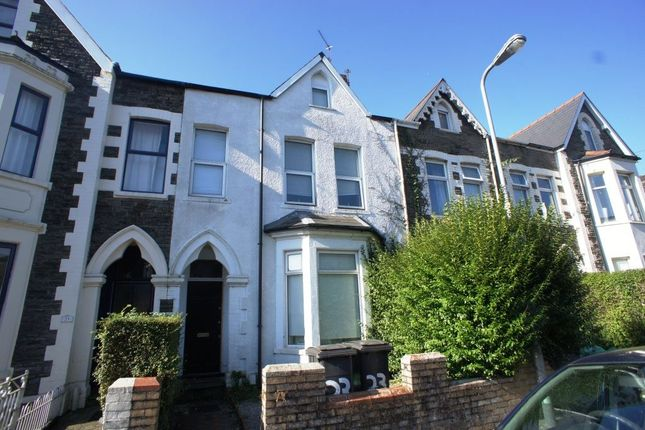 Thumbnail Terraced house for sale in Gordon Road, Cathays, Cardiff