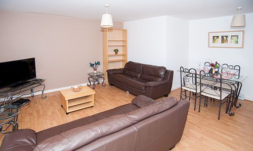 Lounge of Serviced Apartment 'short Term Let', CV Central Coventry, Serviced Apartment 'lowest Price Promise' CV1