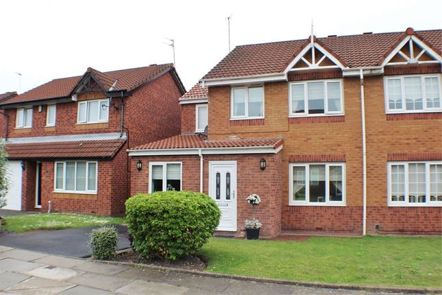 Thumbnail Semi-detached house for sale in Heatherleigh Close, Liverpool, Merseyside