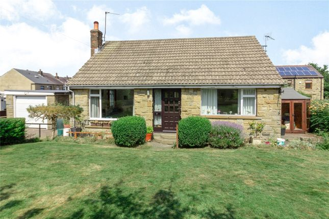 Thumbnail Detached bungalow for sale in Bradshaw Close, Honley, Holmfirth, West Yorkshire