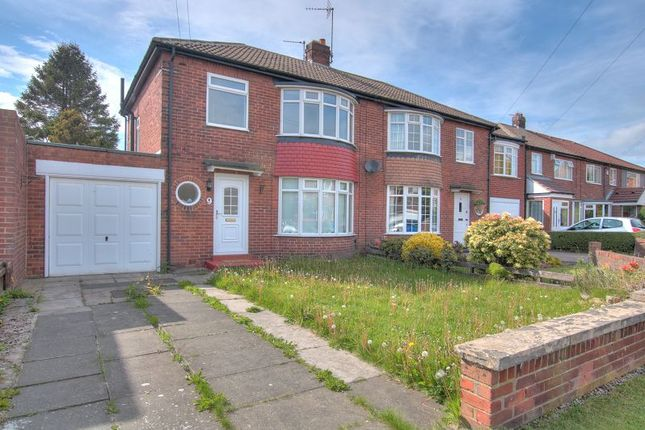 Thumbnail Semi-detached house to rent in Clinton Place, Newcastle Upon Tyne