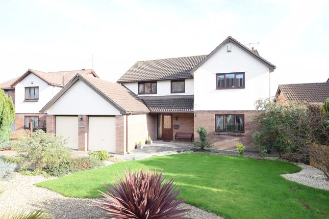 Thumbnail Detached house for sale in Primrose Court, Ty Canol, Cwmbran