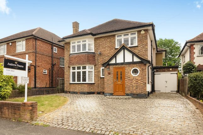 Thumbnail Detached house for sale in Barnhill, Pinner