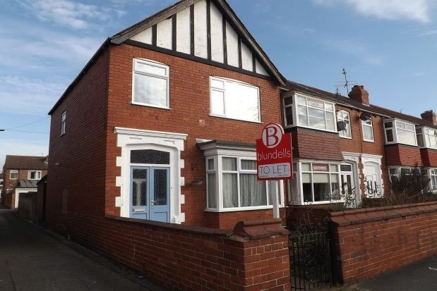 Thumbnail Terraced house to rent in Holyrood Road, Doncaster