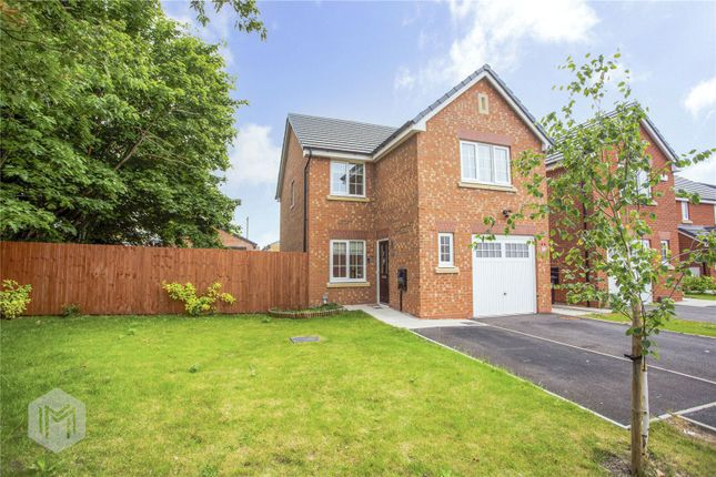 Thumbnail Detached house for sale in Lea Green Close, Lowton, Warrington