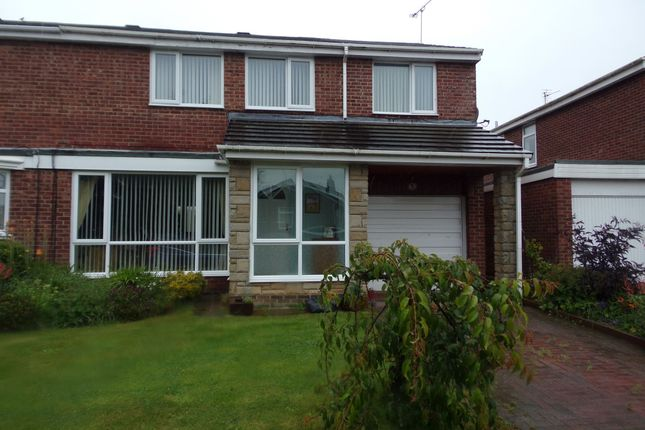 Thumbnail Semi-detached house for sale in Irthing, Ellington, Morpeth