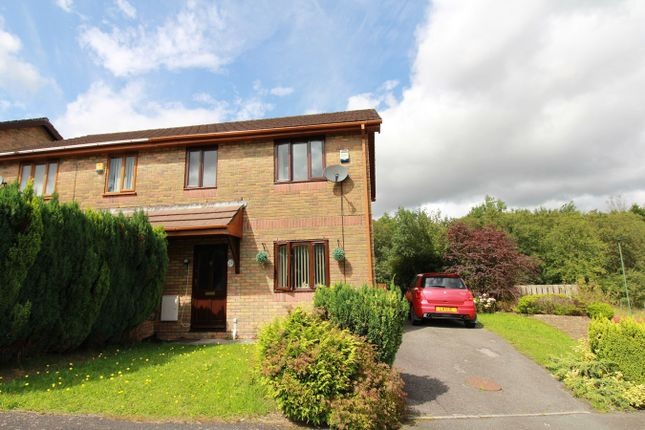 Thumbnail Semi-detached house for sale in Willow Close, Ebbw Vale