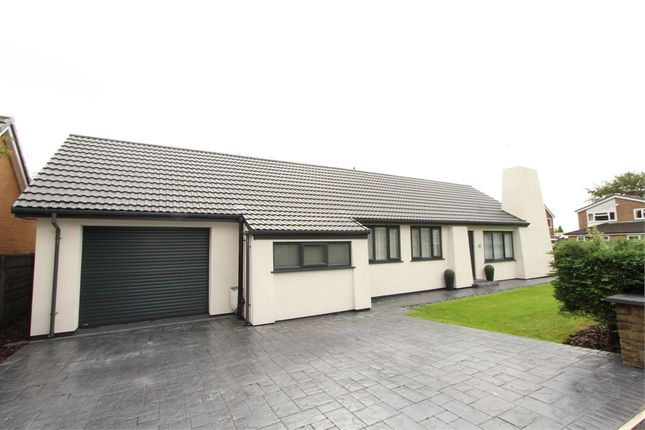Thumbnail Detached bungalow for sale in Caldy Drive, Holcombe Brook, Bury, Lancashire