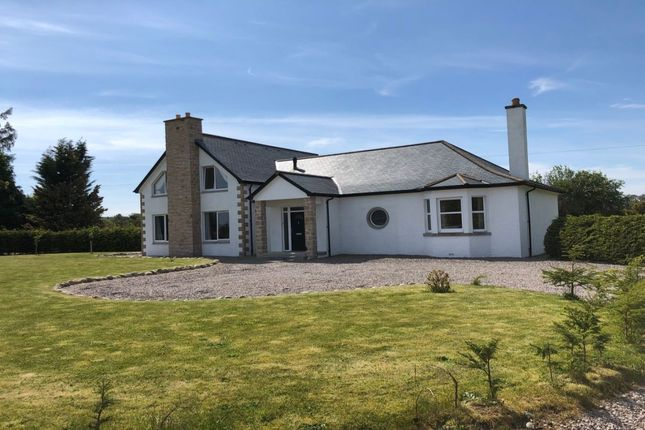 Thumbnail Detached house to rent in Red Craig, Forres