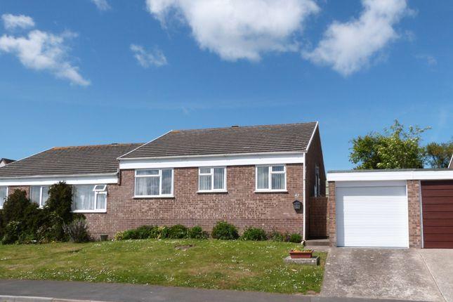 Thumbnail Semi-detached bungalow for sale in Devonshire Park, Bideford