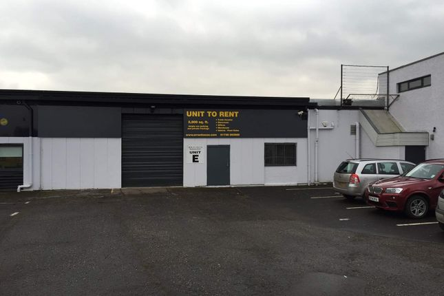 Thumbnail Light industrial to let in Unit E, Arran Road, Perth