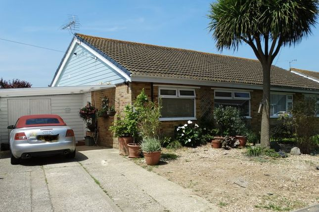 Thumbnail Semi-detached bungalow for sale in Roundstone Way, Selsey, Chichester