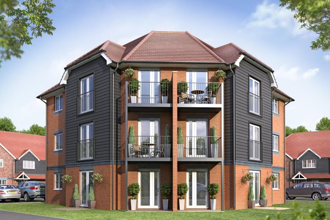 "Thumbnail Flat for sale in ""Longwood House"" at Pearce Way, Bishopdown, Salisbury"