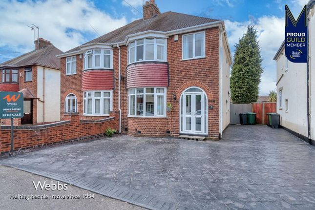 3 bed semi-detached house for sale in York Avenue, Willenhall WV13
