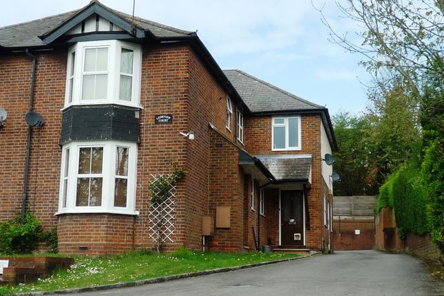 Thumbnail Flat to rent in London Road, High Wycombe