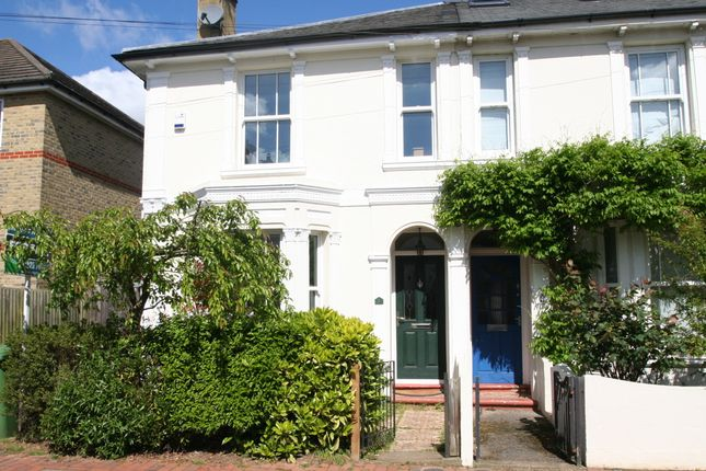 Thumbnail Semi-detached house for sale in Albion Road, Tunbridge Wells
