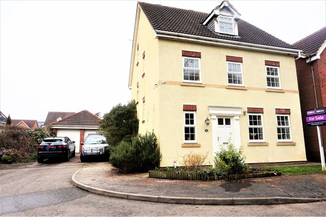 Thumbnail Detached house for sale in Admington Drive, Warwick
