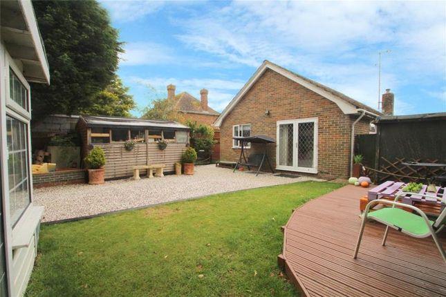 Thumbnail Detached bungalow for sale in Penstone Park, Lancing, West Sussex