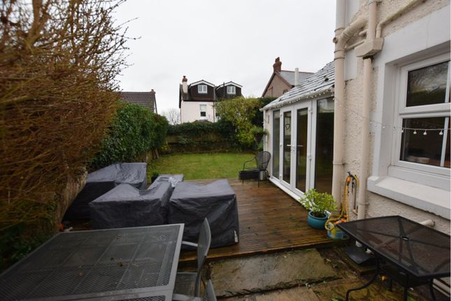 Rear Garden of North Drive, Heswall, Wirral CH60