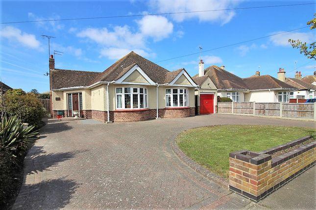 Thumbnail Detached bungalow for sale in Southcliff Park, Clacton On Sea