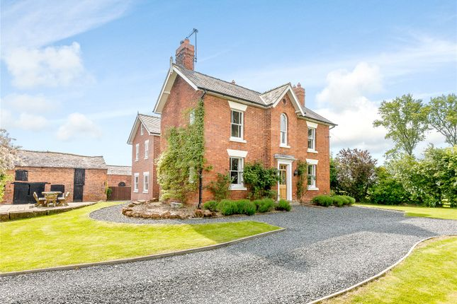 Thumbnail Detached house for sale in Edgerley, Oswestry, Shropshire