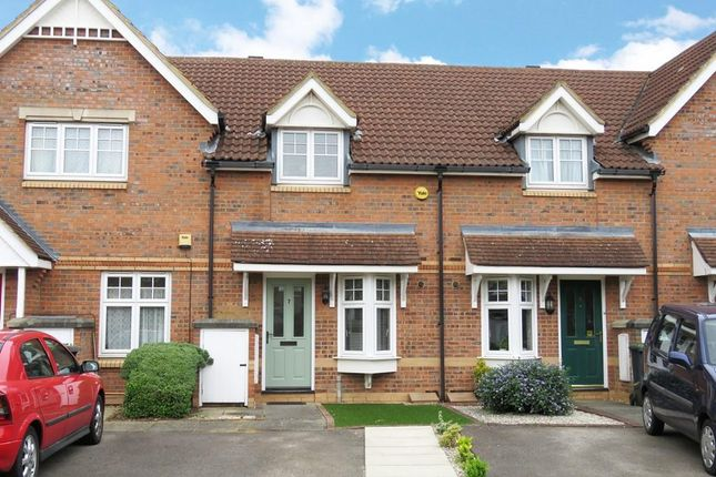Thumbnail Terraced house to rent in Tulip Close, Biggleswade
