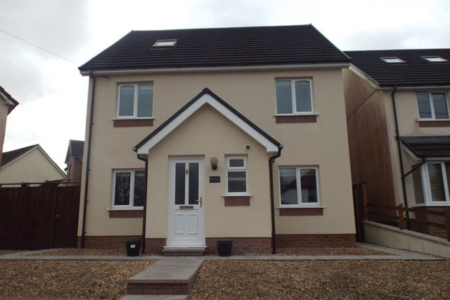 Thumbnail Detached house to rent in Heol Y Foel, Foelgastell, Llanelli