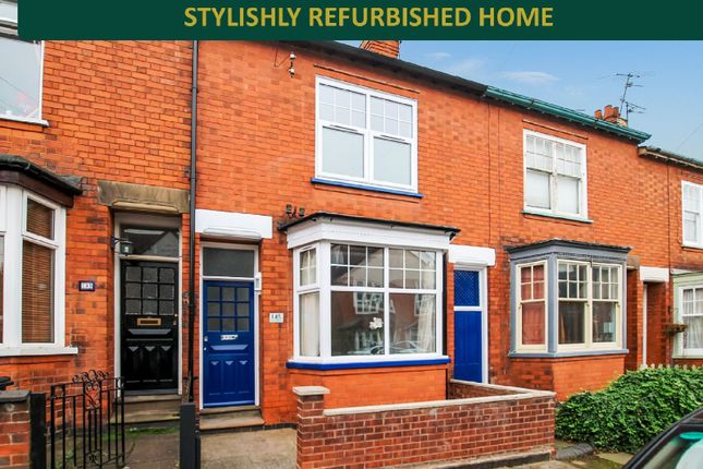 Thumbnail Terraced house for sale in Howard Road, Clarendon Park, Leicester