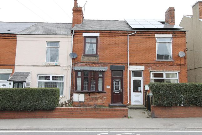 Terraced house for sale in Williamthorpe Road, North Wingfield, Chesterfield