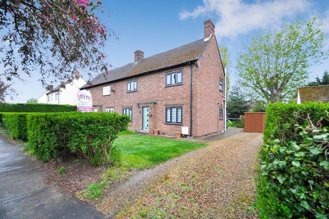 Thumbnail Semi-detached house for sale in Bernard Road, Brampton, Huntingdon