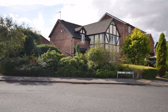 Thumbnail Detached house for sale in Rudyard Close, Stone