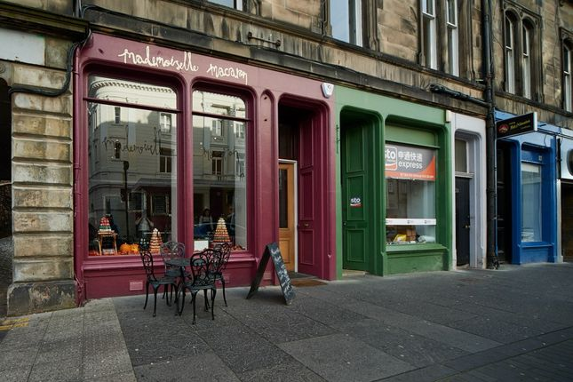 Thumbnail Retail premises for sale in Grindlay Street, Edinburgh