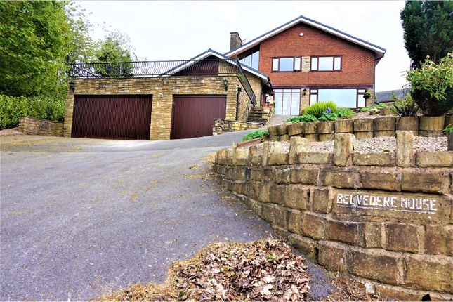 Thumbnail Detached house for sale in Shaw Road, Newhey